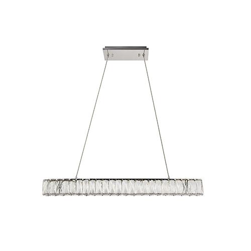 Monroe Chrome Seven-Inch LED Chandelier