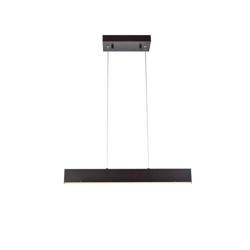 Kirra Brown 24-Inch LED Pendant