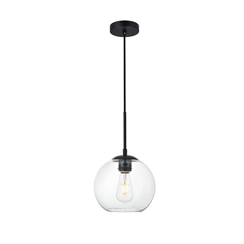 Baxter Black Seven-Inch One-Light Mini Pendant