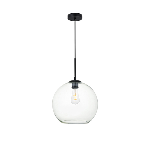 Baxter Black 11-Inch One-Light Pendant