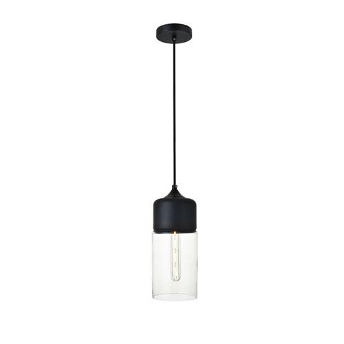 Ashwell Black Five-Inch One-Light Mini Pendant