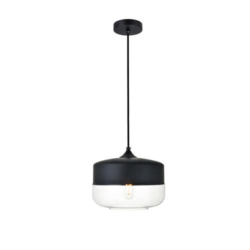 Ashwell Black 10-Inch One-Light Pendant