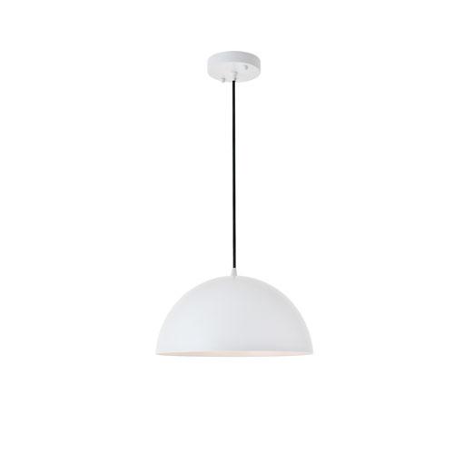 Forte White 14-Inch One-Light Pendant