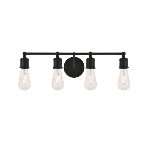 Serif Four-Light Wall Sconce