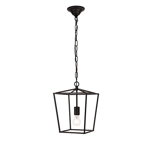 Maddox Black One-Light Mini Pendant