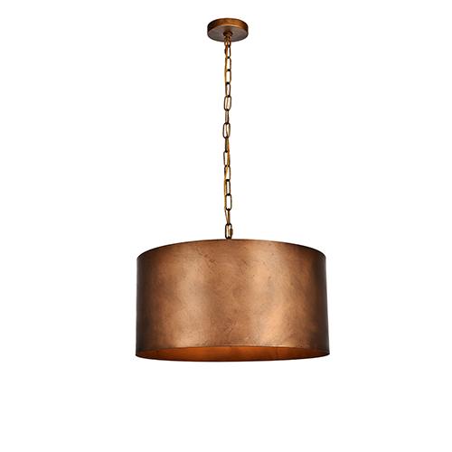 Miro Manual Brass Three-Light Pendant