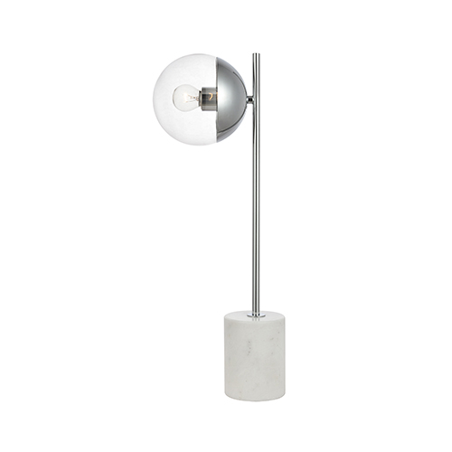 Eclipse Chrome One-Light Table Lamp