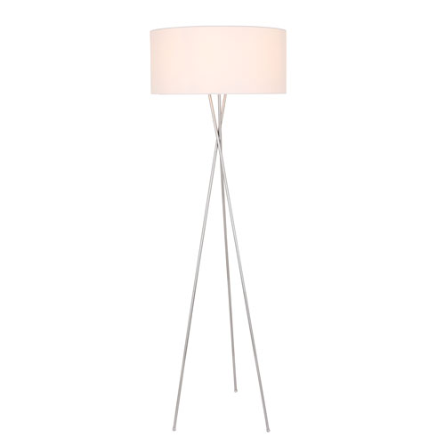 Cason Silver 66-Inch One-Light Floor Lamp