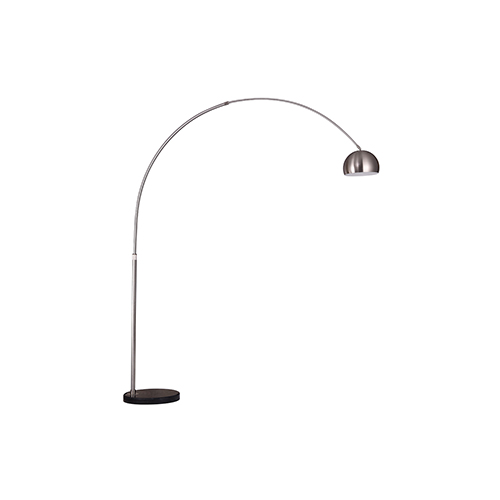 Arcis Satin Nickel One-Light Floor Lamp