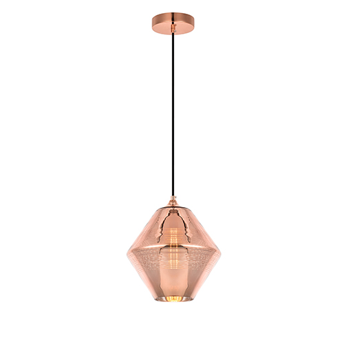 Reflection Copper 10-Inch One-Light Mini Pendant