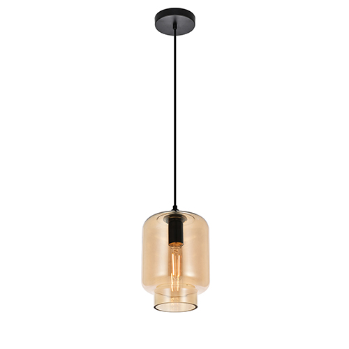 Collins Amber 10-Inch One-Light Mini Pendant
