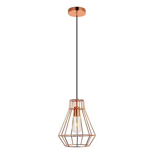 Jago Copper 12-Inch One-Light Mini Pendant