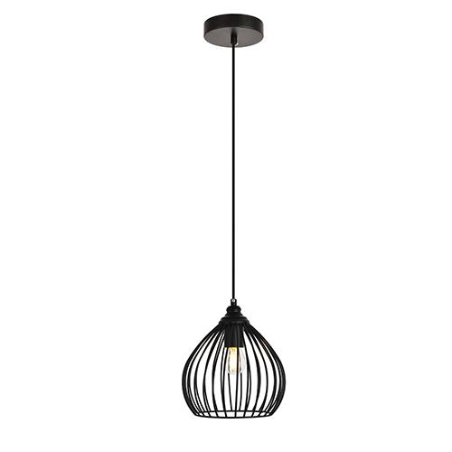 Sayer Black One-Light Mini Pendant