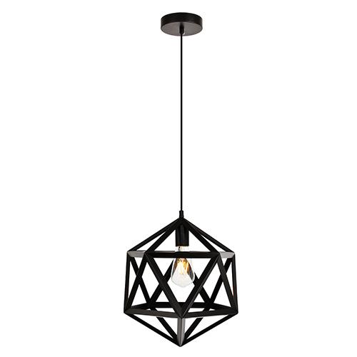 Redmond Black 13-Inch One-Light Pendant