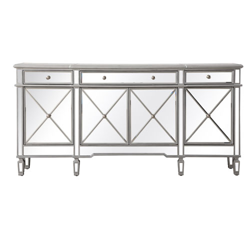 Contempo Silver 72 Inch Sideboard Mf6