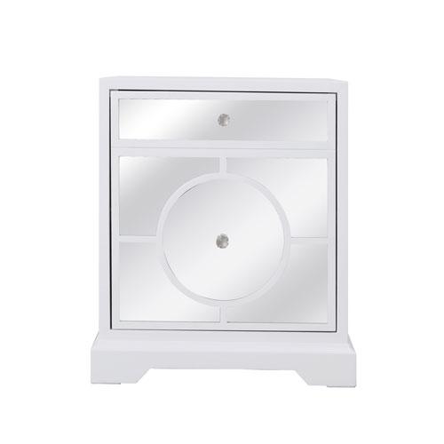 Modern White 24-Inch Cabinet
