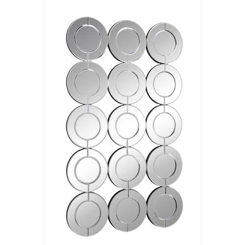 Modern Clear 35-Inch Rectangular Mirror