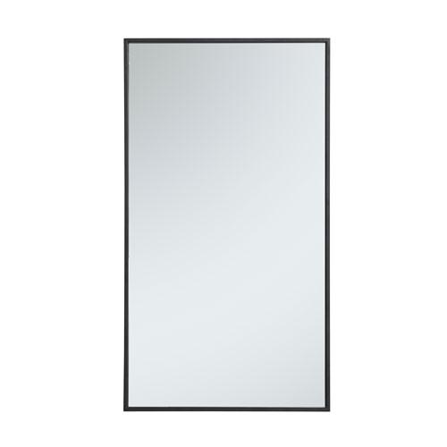 Eternity Rectangular Mirror with Metal Frame