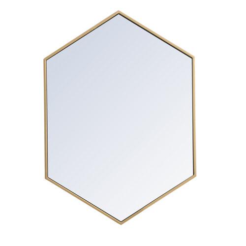 Eternity Hexagon Mirror