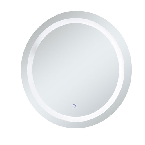Helios Steel Touchscreen LED Lighted Mirror
