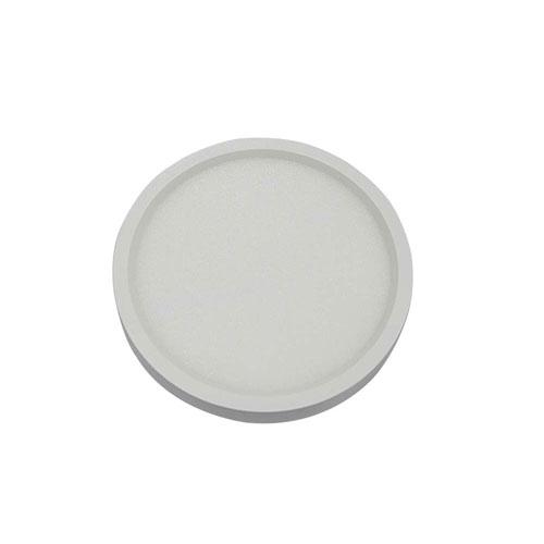 White 7-Inch 3000K LED Recessed Disk Light