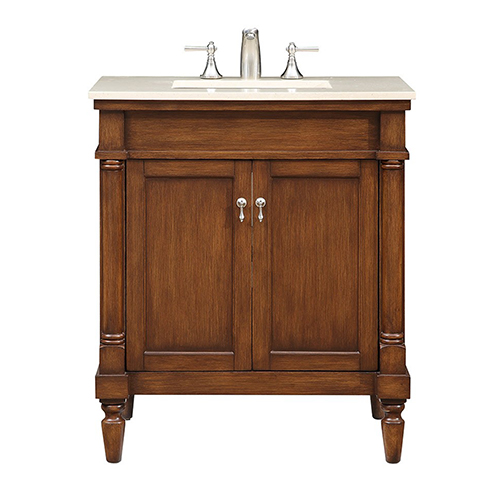 Lexington Brown Bath Vanity Set