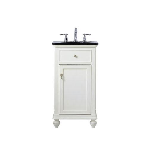 Otto Antique White 19-Inch Vanity Sink Set