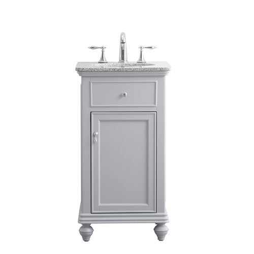 Otto Light Gray 19-Inch Vanity Sink Set