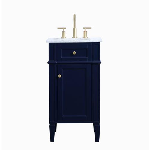 Williams Blue 18-Inch Vanity Sink Set