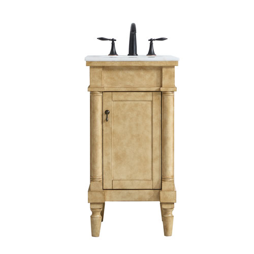 Lexington Antique Beige 19-Inch Vanity Sink Set