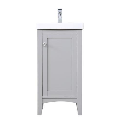 Mod Gray 18-Inch Vanity Sink Set