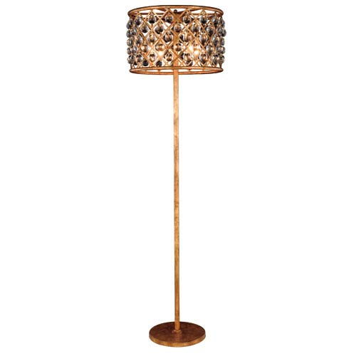 Madison Golden Iron 20-Inch Four-Light Floor Lamp