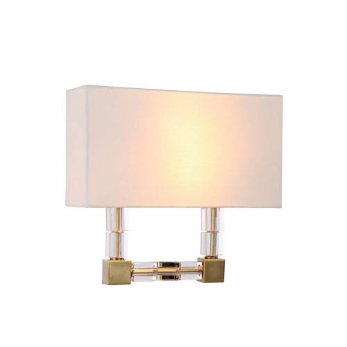 Cristal Burnished Brass 13-Inch Two-Light Wall Sconce
