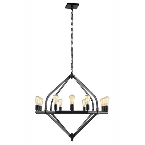 Illumina Bronze Twelve-Light Chandelier