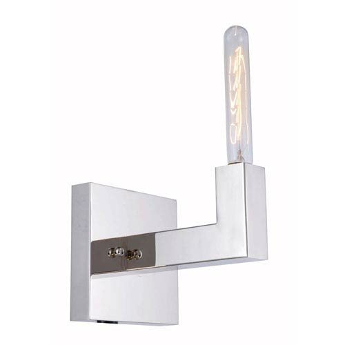 Corsica Polished Nickel One-Light Wall Sconce