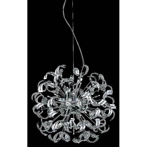 Tiffany Elegant Cut Crystal Chrome 30 Light 43-in Chandelier