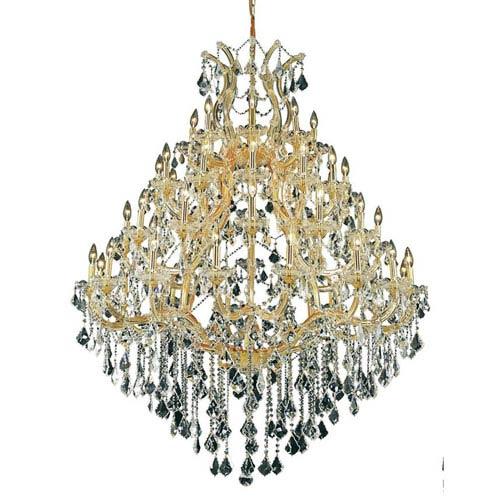 Elegant Lighting Maria Theresa Gold 49-Light Chandelier with Swarovski Strass/Elements Crystal