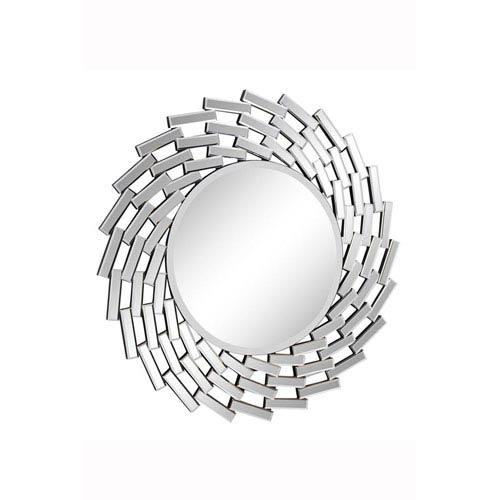 Elegant Lighting Modern Clear 42 Inch Round Mirror