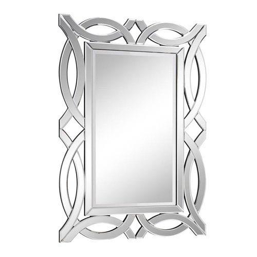 Elegant Lighting Modern Clear 28-Inch Rectangle Mirror