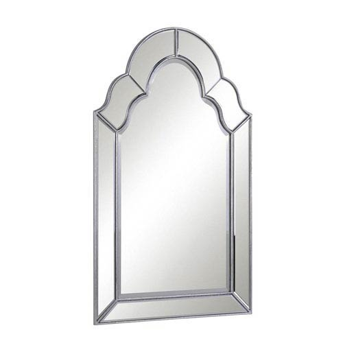 Clear 25-Inch Transitional Mirror