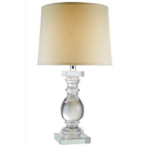 Regina Chrome Twenty-Eight-Inch Table Lamp