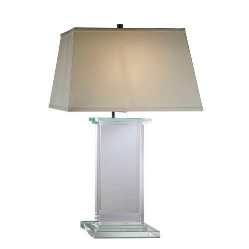 Regina Chrome Eleven-Inch Table Lamp