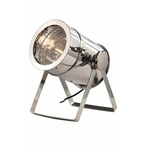 Chrome Ten-Inch Table Lamp