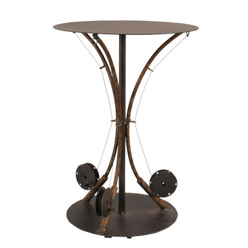 Rustic Living Brown End Table