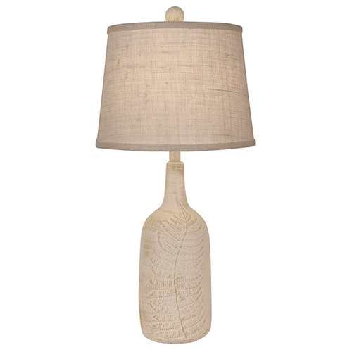 Coastal Living Nude One-Light Leaf Accent Table Lamp