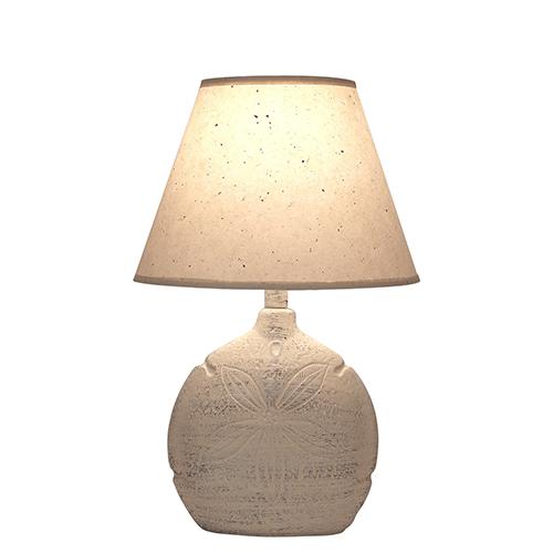 Coastal Living Cottage One-Light Sand Dollar Table Lamp