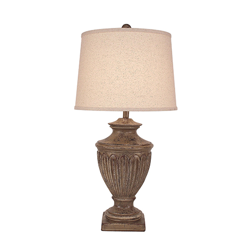 Casual Living Tarnished Cottage One-Light Urn Table Lamp