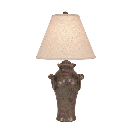 Casual Living Tarnished Pale Gray One-Light 30-Inch Table Lamp