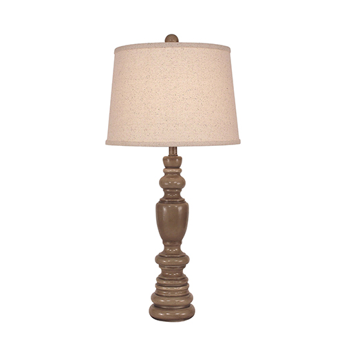 Coast Lamp Manufacturing Casual Living Cottage Glaze One-Light 31-Inch Table Lamp