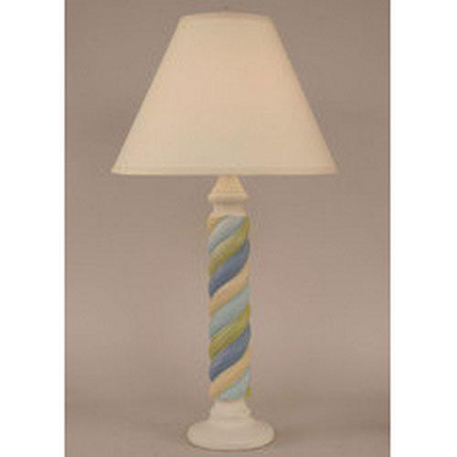 Coastal Living Cottage Stripe One-Light Table Lamp